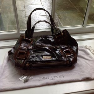 Dark brown like new Jimmy Choo bag